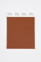 Pantone Smart 19-1242 TCX Color Swatch Card, Cambridge Brown