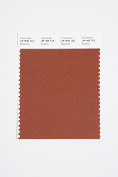 Pantone Smart 19-1428 TCX Color Swatch Card, Brownout