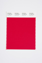 Pantone Smart 19-1558 TCX Color Swatch Card, Scarlet Smile