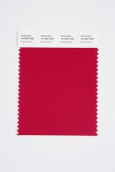 Pantone Smart 19-1657 TCX Color Swatch Card, Karanda Red