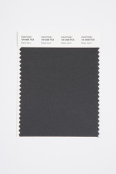Pantone Smart 19-4406 TCX Color Swatch Card, Black Sand