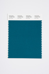 Pantone Smart 19-4523 TCX Color Swatch Card, Gulf Coast