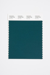 Pantone Smart 19-5025 TCX Color Swatch Card, Dark Sea