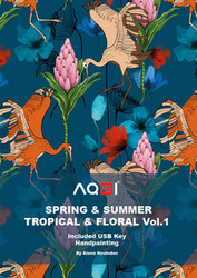 Aqui Tropical & Floral Prints SS2022 Book