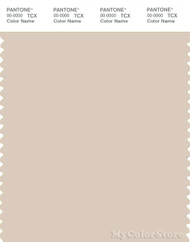 PANTONE SMART 13-1107X Color Swatch Card, Whisper Pink