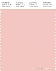 PANTONE SMART 13-1310X Color Swatch Card, English Rose