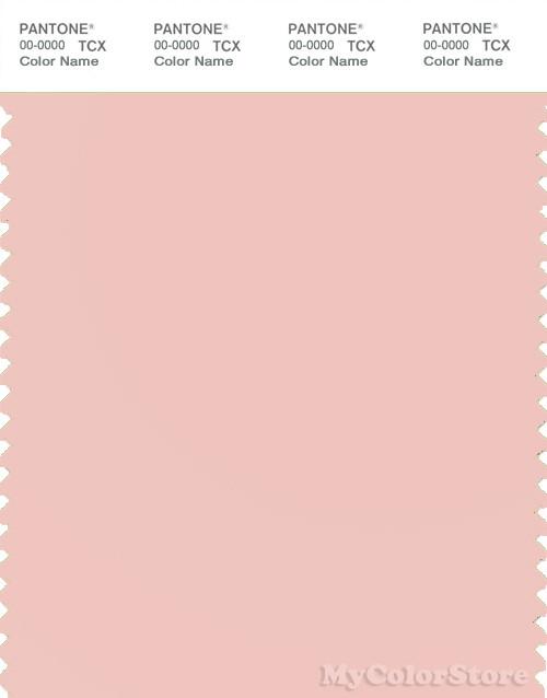 PANTONE SMART 13-1408X Color Swatch Card, Chintz Rose