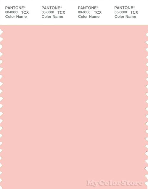 PANTONE SMART 13-1513X Color Swatch Card, Gossamer Pink