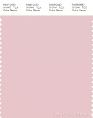PANTONE SMART 13-1904X Color Swatch Card, Chalk Pink