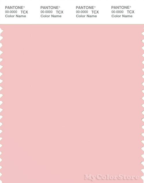 PANTONE SMART 13-2005X Color Swatch Card, Strawberry Cream