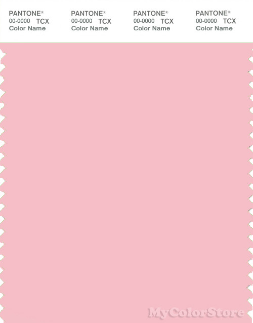 PANTONE SMART 13-2006X Color Swatch Card, Almond Blossom