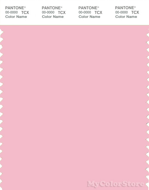 PANTONE SMART 13-2010X Color Swatch Card, Orchid Pink