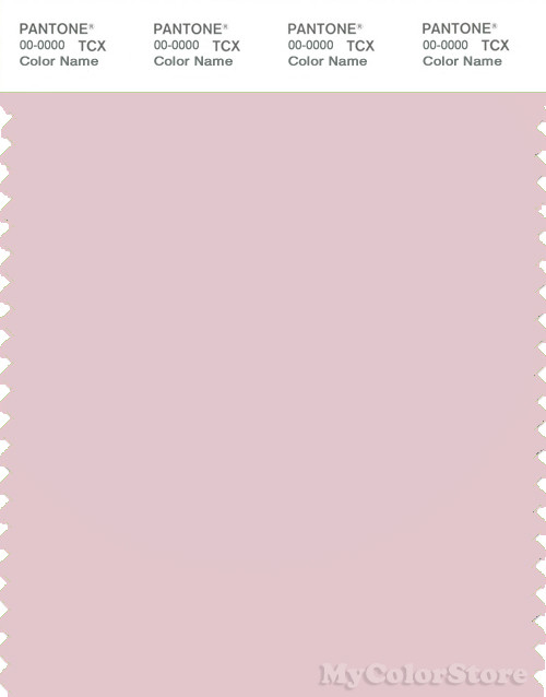PANTONE SMART 13-2803X Color Swatch Card, Pale Lilac