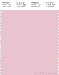 PANTONE SMART 13-2804X Color Swatch Card, Parfait Pink