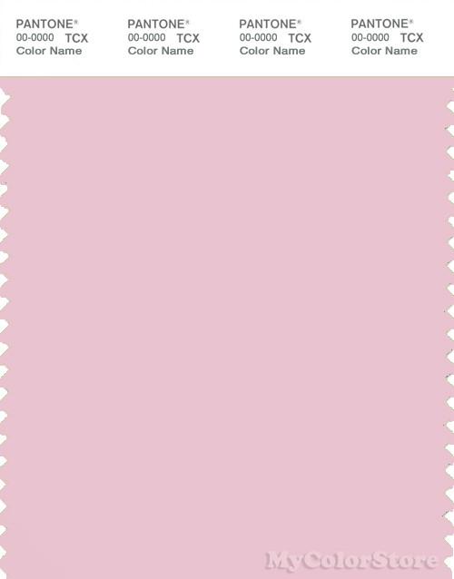 PANTONE SMART 13-2804X Color Swatch Card, Parfait Pink