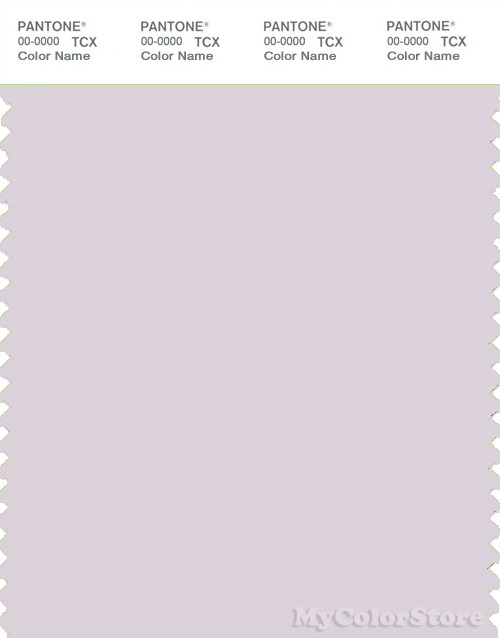 PANTONE SMART 13-3802X Color Swatch Card, Orchid Tint