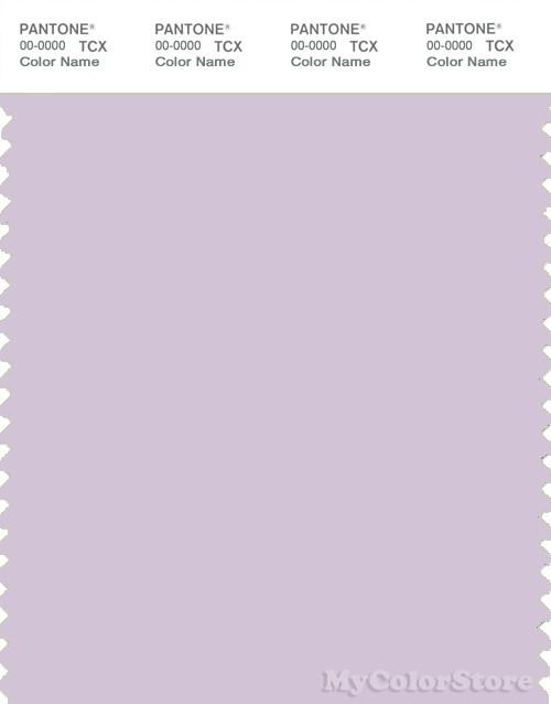 PANTONE SMART 13-3820X Color Swatch Card, Lavender Fog