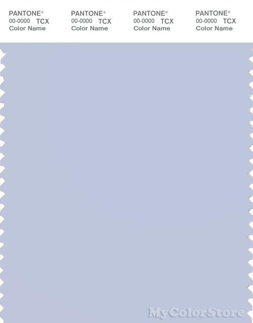 PANTONE SMART 13-3920X Color Swatch Card, Halogen Blue