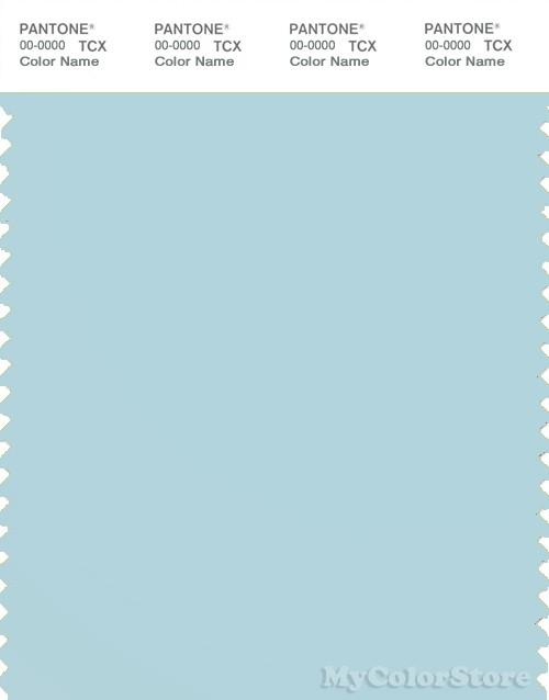PANTONE SMART 13-4409X Color Swatch Card, Blue Glow