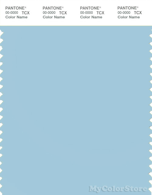 PANTONE SMART 13-4411X Color Swatch Card, Crystal Blue
