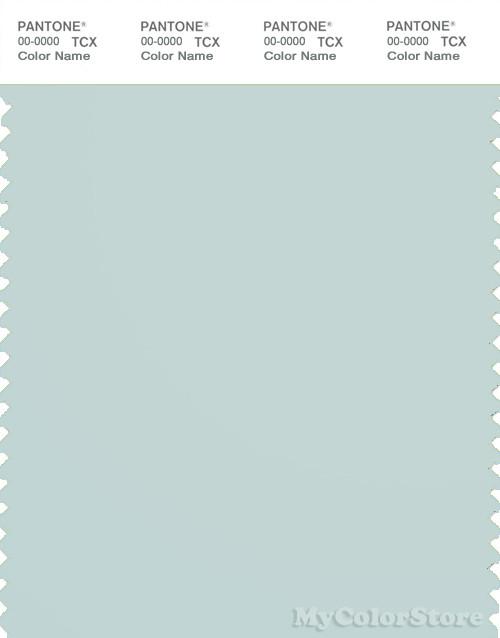 PANTONE SMART 13-4804X Color Swatch Card, Pale Blue