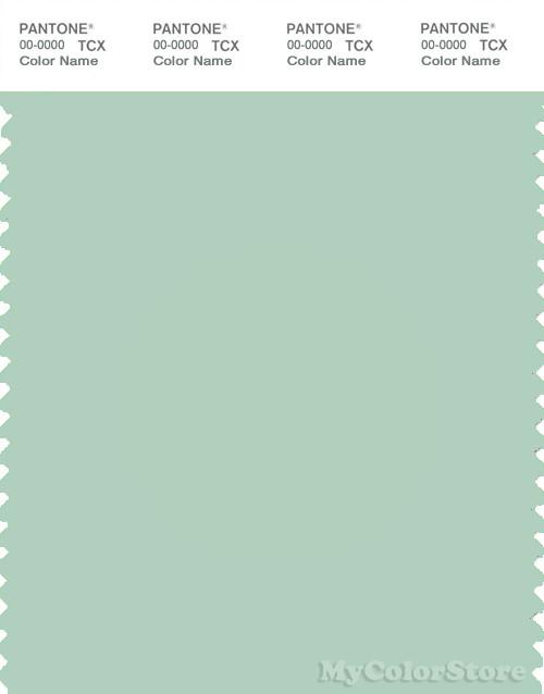 PANTONE SMART 13-5907X Color Swatch Card, Gossamer Green