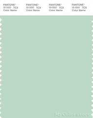 PANTONE SMART 13-6008X Color Swatch Card, Misty Jade