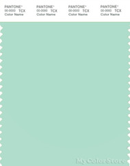 PANTONE SMART 13-6009X Color Swatch Card, Brook Green