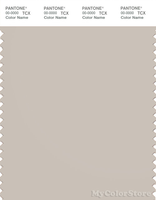 PANTONE SMART 14-0002X Color Swatch Card, Pumice Stone