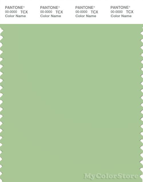 PANTONE SMART 14-0121X Color Swatch Card, Nile Green