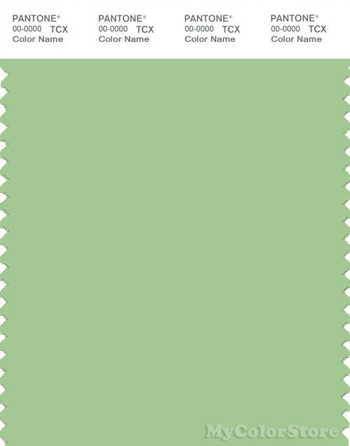 PANTONE SMART 14-0123X Color Swatch Card, Arcadian Green