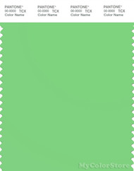 PANTONE SMART 14-0156X Color Swatch Card, Summer Green
