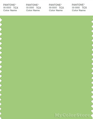 PANTONE SMART 14-0232X Color Swatch Card, Jade Lime