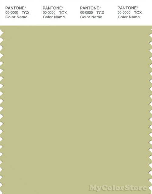 PANTONE SMART 14-0425X Color Swatch Card, Beechnut