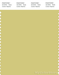 PANTONE SMART 14-0636X Color Swatch Card, Muted Lime