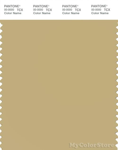 PANTONE SMART 14-0721X Color Swatch Card, Hemp