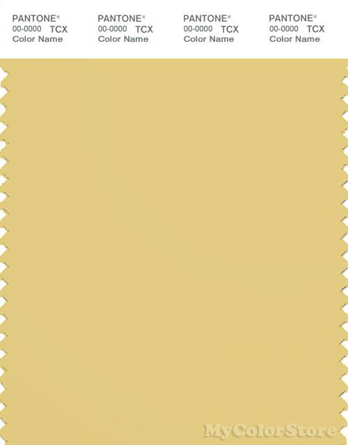 PANTONE SMART 14-0827X Color Swatch Card, Dusky Citron