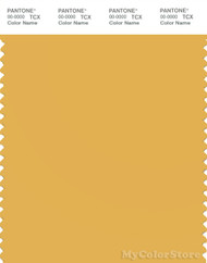 PANTONE SMART 14-0846X Color Swatch Card, Yolk Yellow