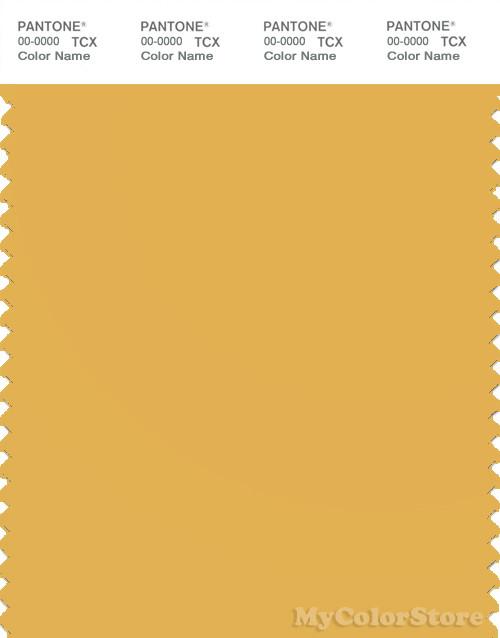 PANTONE SMART 14-0846X Color Swatch Card, Yolk Yellow