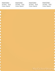 PANTONE SMART 14-0847X Color Swatch Card, Buff Yellow
