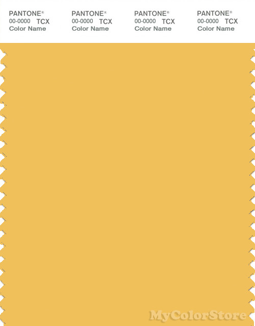 PANTONE SMART 14-0848X Color Swatch Card, Mimosa
