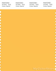 PANTONE SMART 14-0850X Color Swatch Card, Daffodil