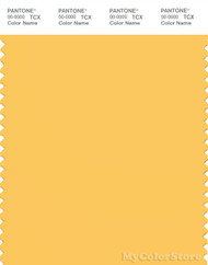 PANTONE SMART 14-0851X Color Swatch Card, Samoan Sun