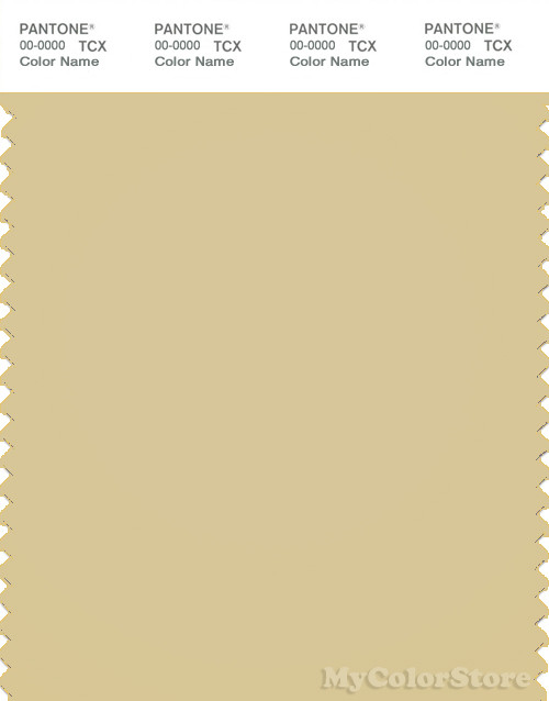 PANTONE SMART 14-0925X Color Swatch Card, Parsnip
