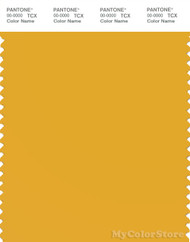 PANTONE SMART 14-0951X Color Swatch Card, Golden Rod