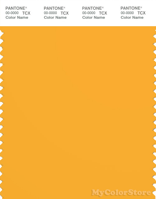 PANTONE SMART 14-0955X Color Swatch Card, Citrus