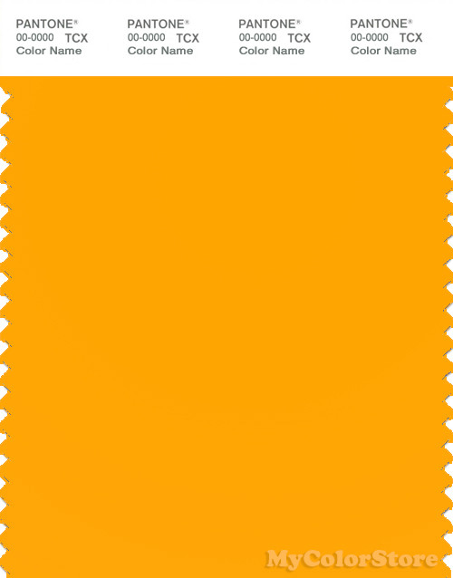 PANTONE SMART 14-1064X Color Swatch Card, Saffron