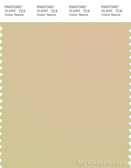 PANTONE SMART 14-1113X Color Swatch Card, Marzipan