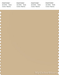 PANTONE SMART 14-1116X Color Swatch Card, Almond Buff