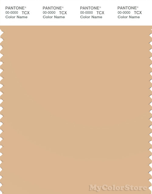 PANTONE SMART 14-1122X Color Swatch Card, Sheepskin